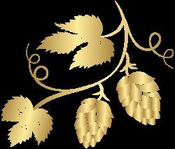 Gold Hop Transparent PNG Clip Art Image   Gallery Yopriceville ...