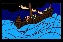 Jesus Calms the Storm – Mission Bible Class