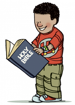 Boy With Bible Clipart
