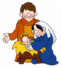 Bible Clip Art by Phillip Martin, Holy Family