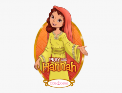 Bible Clipart Hannah - Female Bible Character Women Of The ...