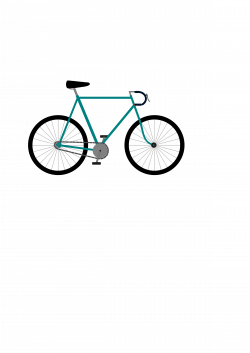 Clipart - Fixed Gear Bicycle