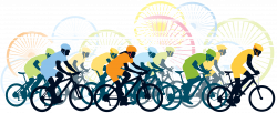 Road bicycle racing Cycling Road bicycle racing Clip art - bicycle ...