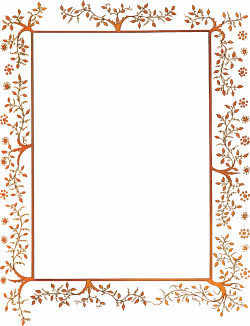 2058-Free-Clipart-Of-A-Vintage-Floral-Decorative-Border.png 4,000 ...