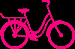 Pink Bike clip art Clker.com, free clip-art! | Home | Bike ...