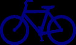 Blue Bike Clip Art at Clker.com - vector clip art online ...