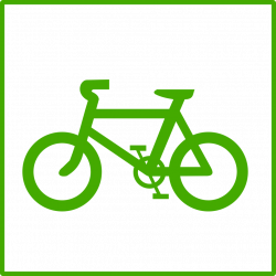 Public Domain Clip Art Image | Illustration of a bicycle | ID ...