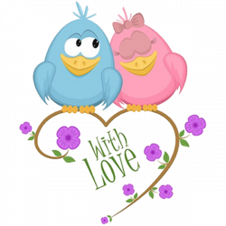 Cute Love Birds Cartoon Clip Art Images.All Bird Images Are Free For ...