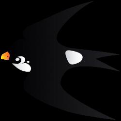 Swallow Bird Cartoon Transparent PNG Image   Gallery Yopriceville ...