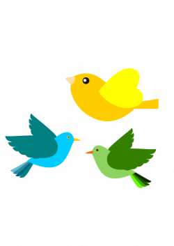 28+ Collection of Cute Bird Flying Clipart   High quality, free ...