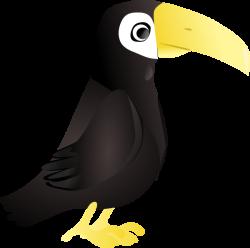 Simple Toucan Clip Art at Clker.com - vector clip art online ...