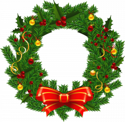 Xmas wreath clipart - ClipartFest | Christmas | Pinterest | Wreaths ...