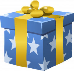 Clipart - Misc Bag Gift Box Wrapped