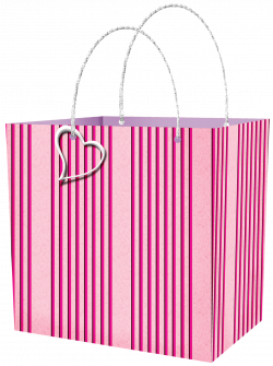 Pink Gift Bag Clipart   Gallery Yopriceville - High-Quality Images ...