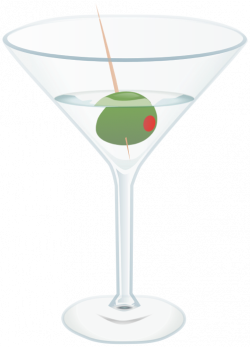 Clipart of Beer, Wine, Martinis and Other Alcoholic Cocktails