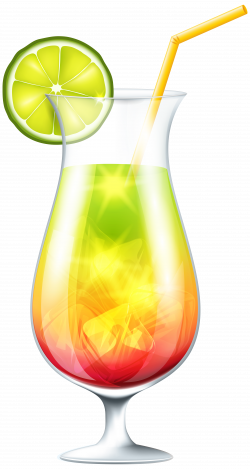 Cocktail with Lime PNG Clip Art Image | Gallery Yopriceville - High ...