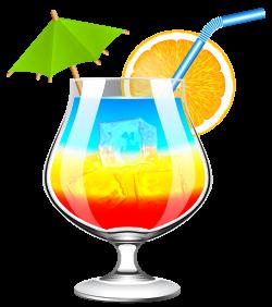Summer Cocktail Transparent PNG Clip Art Image | Gallery ...
