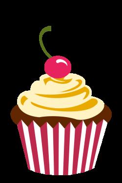 Cupcake Logo Png Cherry chocolate cupcake by | Party/ Cupcake Logo ...