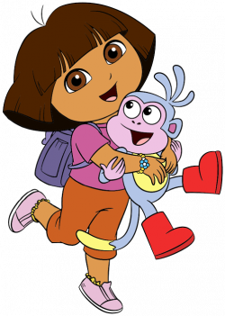 28+ Collection of Dora The Explorer Birthday Clipart | High quality ...