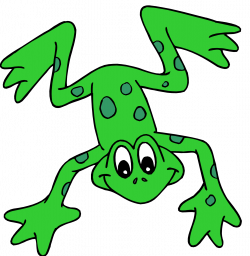 Image of Hopping Frog Clipart #11378, Hopping Frog Clipart - Clipartoons