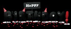 free happy birthday clipart funny happy birthday card funny cat ...