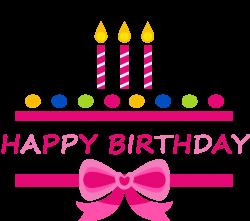 Birthday cake Happy Birthday to You Clip art - Pink Birthday Happy ...