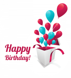 Happy Birthday Text Sticker PNG Clipart Picture | Gallery ...