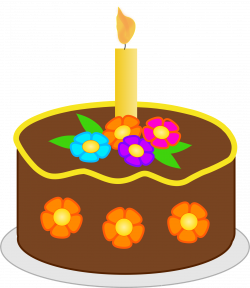 28+ Collection of November Birthday Cake Clipart | High quality ...