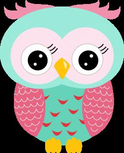 Coruja Rosa e Azul - Minus | Značky na skrinky | Pinterest | Owl ...