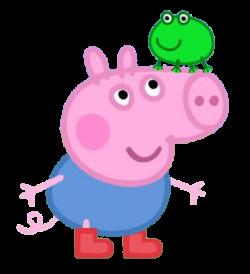 Peppa Pig em Png, George Pig em Png, mamãe e papai Pig em Png e ...
