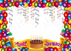 Cute Happy Birthday Frame.png (5000×3648) | Carrie | Pinterest ...