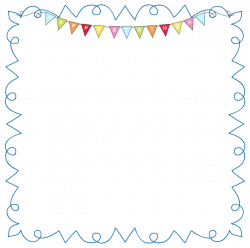 Birthday Picture Frame Clipart | pixels1st.com