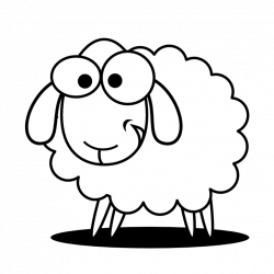 Sheep Clipart Black And White happy birthday clipart hatenylo.com