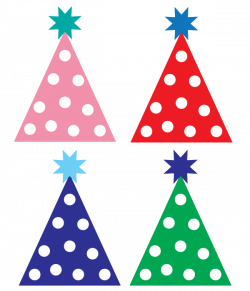 Free party hat clipart   Designs   Pinterest   Birthday clipart ...