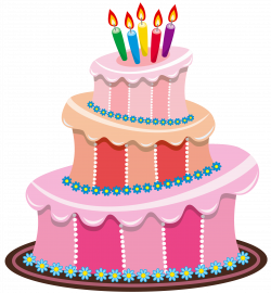 Pink Birthday Cake PNG Clipart | Gallery Yopriceville - High ...