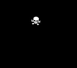 OnlineLabels Clip Art - Pirate Ship Silhouette