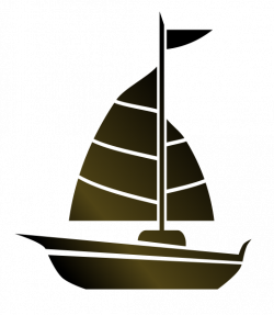 Boat Silhouette at GetDrawings.com | Free for personal use Boat ...