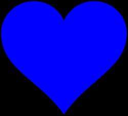 shapes png | Blue Heart Shape clip art - vector clip art online ...