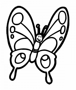 Butterfly Drawing Black And White at GetDrawings.com | Free for ...