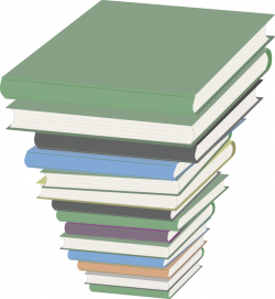 Clipart - Pile of Books