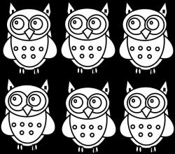 Coloring Book Owls Clip Art at Clker.com - vector clip art online ...