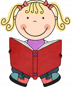 28+ Collection of Children Reading Book Clipart | High quality, free ...