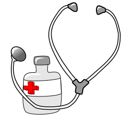 doctor-tools-clipart-metalmarious_Medicine_and_a_Stethoscope.png ...
