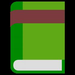 Clipart - Single book