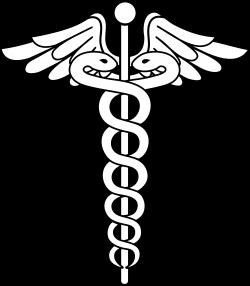 Caduceus Medical Logo Lineart | patterns | Pinterest | Medical logo ...