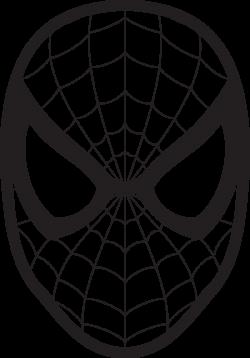 Spiderman Face Logo Spiderman Mask Clipart 23425wall.jpg | Fun Stuff ...
