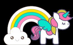 unicorn-clipart-005.png (1600×988) | Обои | Pinterest | Unicorns ...