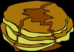 Clipart - Fast Food, Breakfast, Pancakes