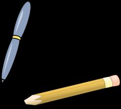 Pen & Pencil Clip Art at Clker.com - vector clip art online, royalty ...