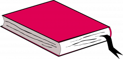 Clipart - Pink Book, no shadow
